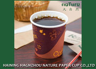 Custom Printed Single Wall Paper Cups 4 Oz Food Grade With Superior Durability